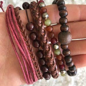 Jewelry - 🆕 Earth Tone Bracelet Set of 6
